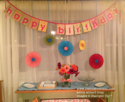 Bigx XL Rosettes birthday display