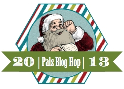 2013 Pals December Hop Badge